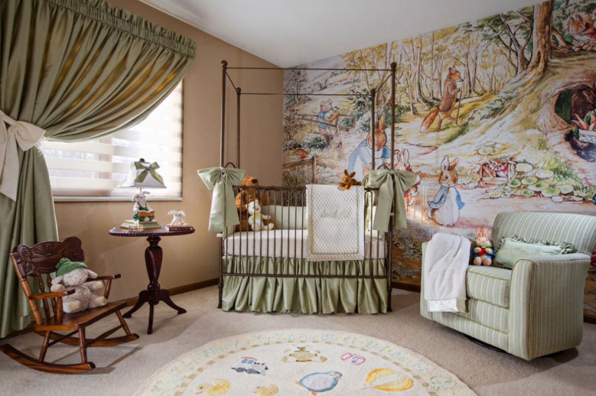 12 Dreamy Accent Walls For Baby Room Talie Jane Interiors