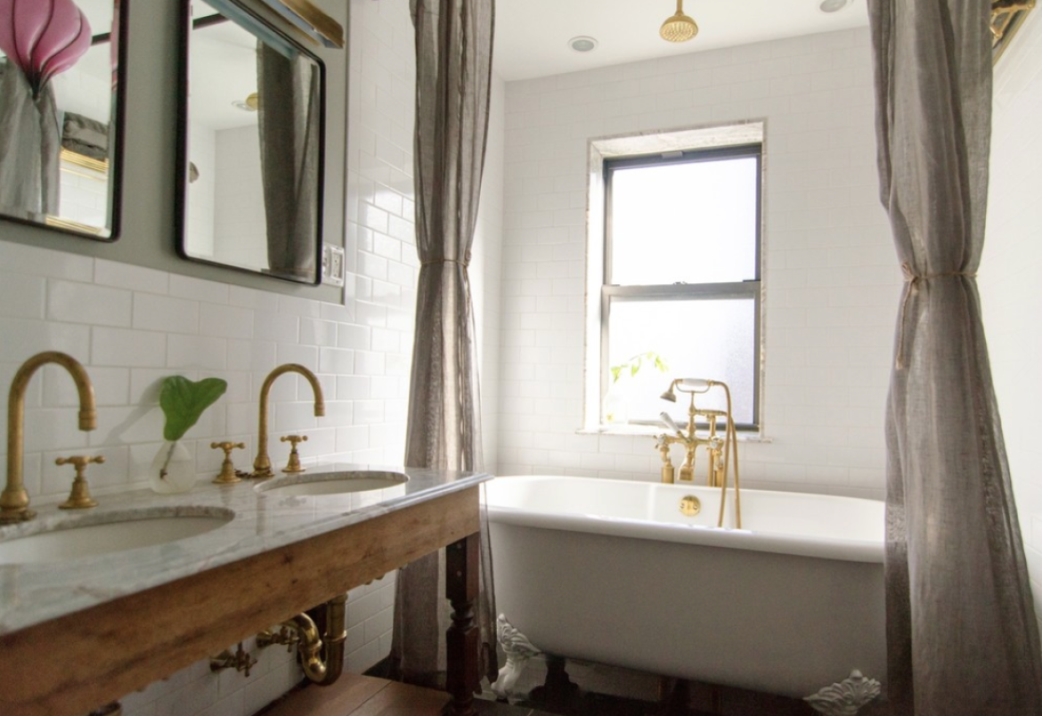 Bathroom Fixtures For Less talie jane interiors » 12 ways to get a luxe bathroom look for less