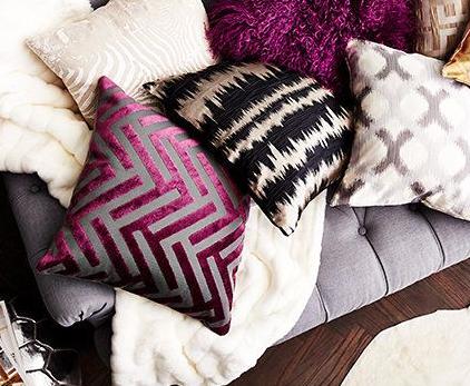 Gutsy Glam Pillows