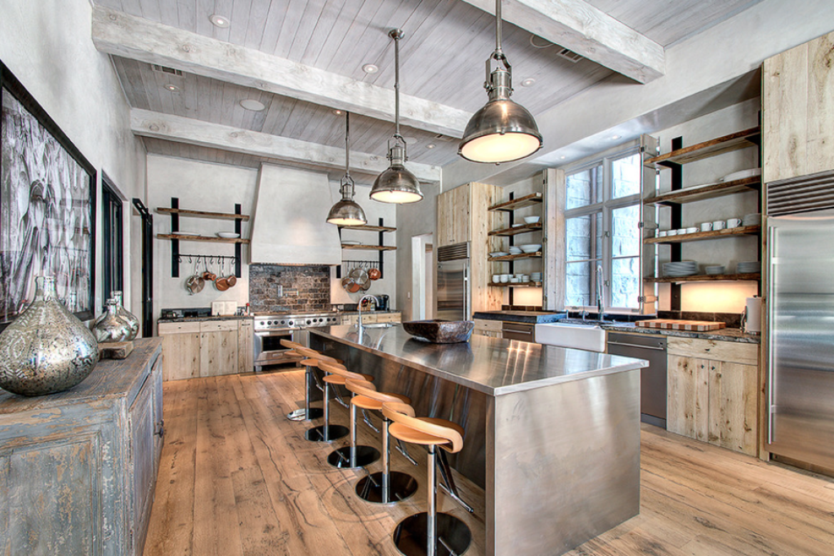 What To Know About Using Reclaimed Wood In The Kitchen