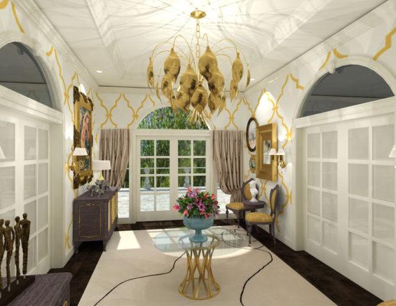 Glencoe Vestibule by Talie Jane Interiors