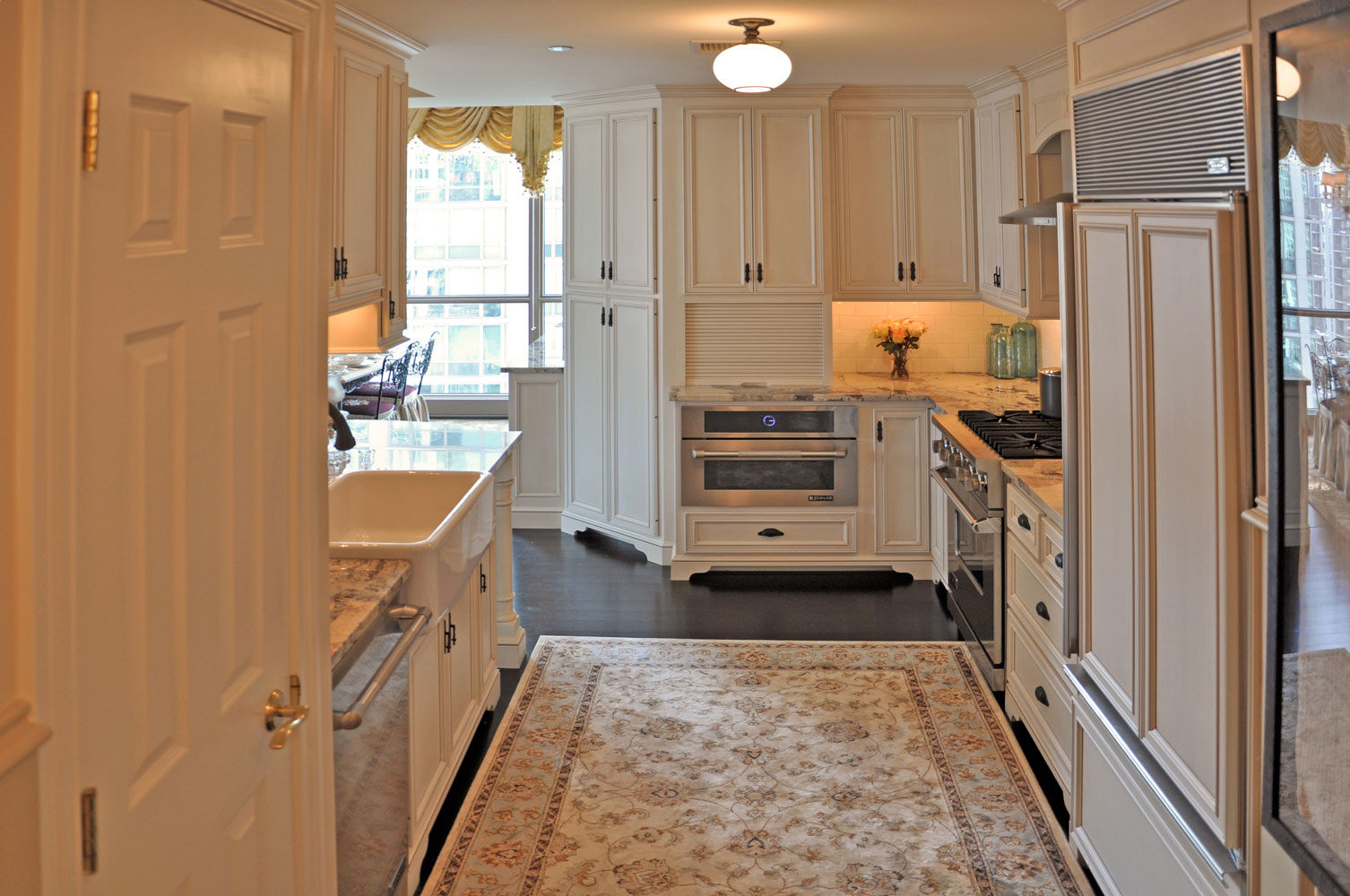 Luxury Home in the Sky Kitchen by Talie Jane Interiors