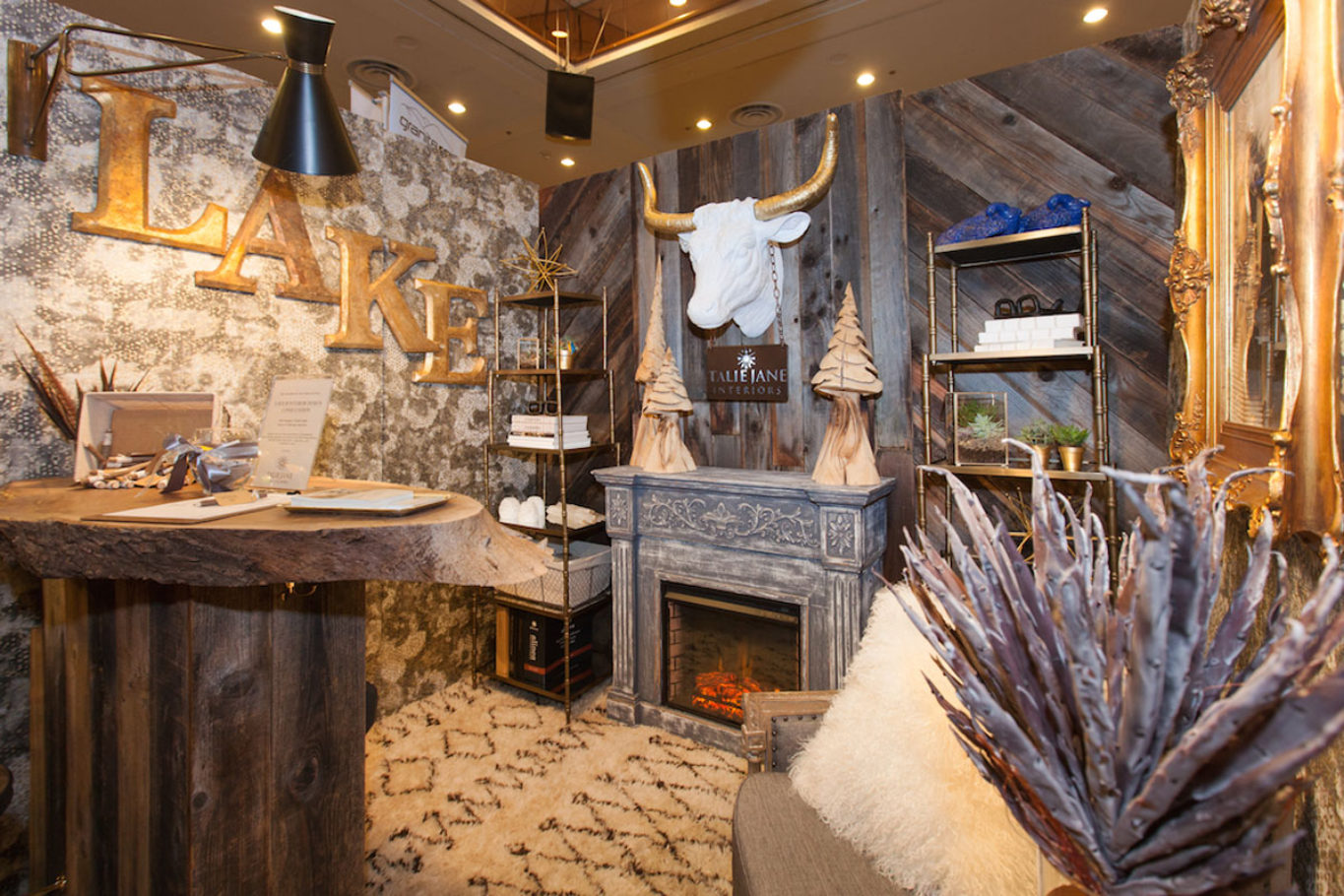 Expo Booth by Talie Jane Interiors Interior Design - South Lake Tahoe