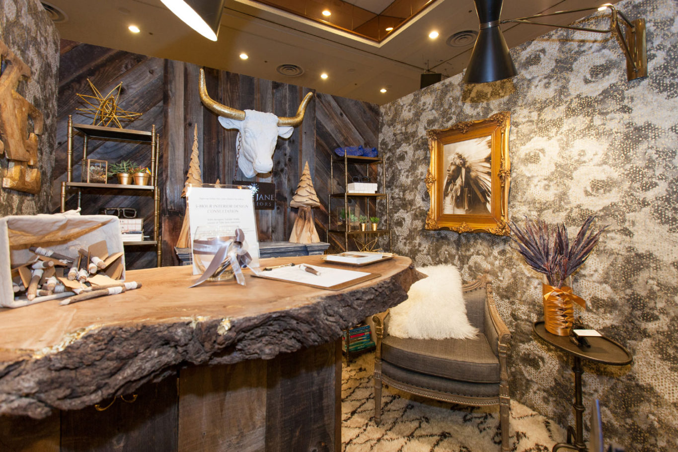 Expo Booth by Talie Jane Interiors