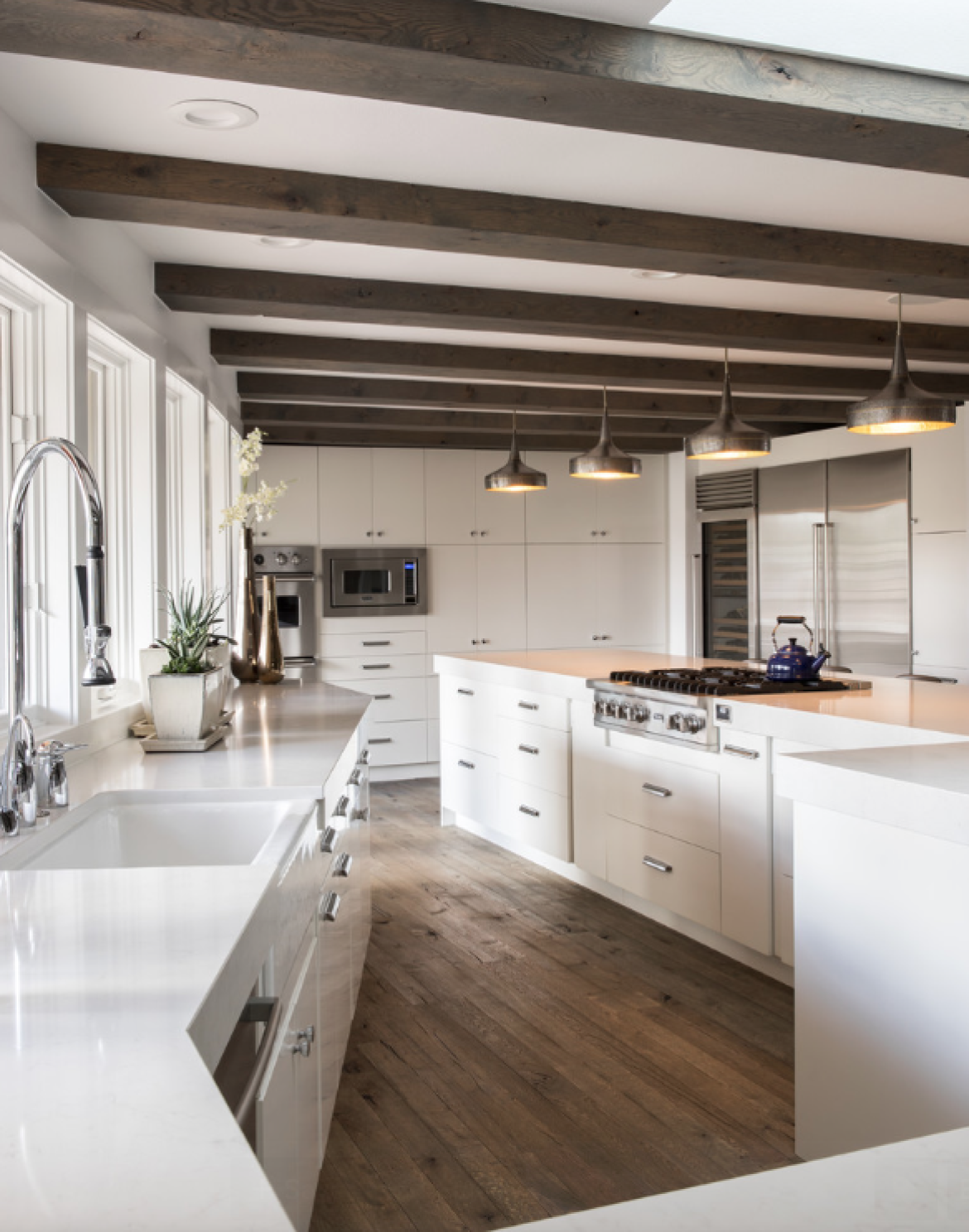 Talie Jane Interiors How to Get Your Kitchen Island Lighting Right