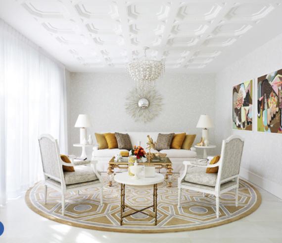 Tailored interior, designer Greg Natale