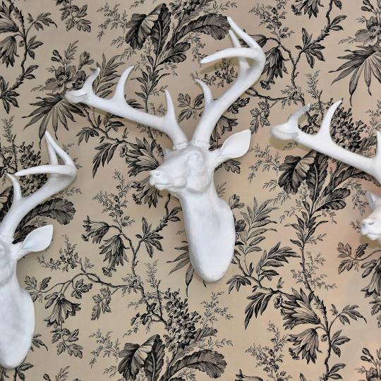 deer head, animal prints, animal heads, faux animal prints, cowhide rugs, zebra print, cheetah print, leopard print