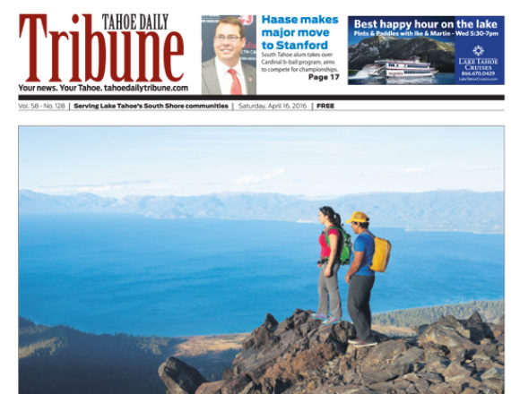 Tahoe Daily Tribune April 2015