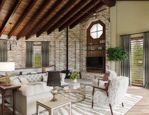 Roise Living Room by Talie Jane Ineteriors