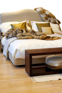 faux fur blanket for your bed