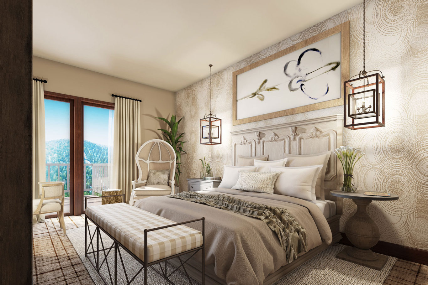 Zalanta Bedroom Plan by Talie Jane Interiors