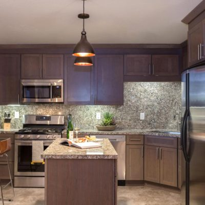 Tahoe Mountain Retreat Kitchen by Talie Jane Interiors