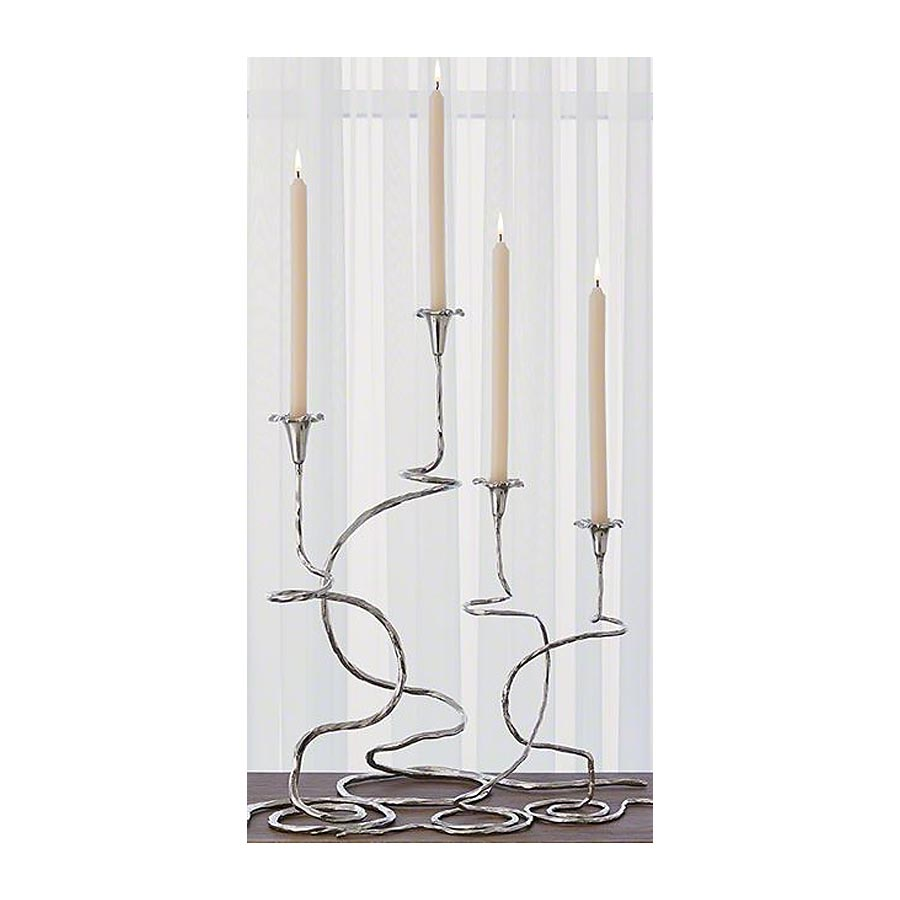 Morning Glory Candelabra