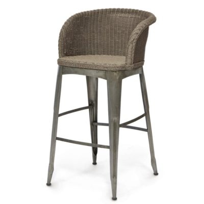 Navy Outdoor Barstool