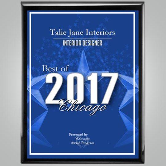Best Of Chicago - 2017 - TalieJane Interiors