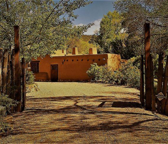 Adobe Building In New Mexico