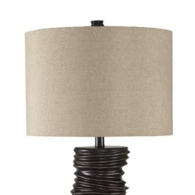 "Huron Table Lamp and Shade - 32""H x 16""W x 16""D $104.99 (plus shipping and tax)"