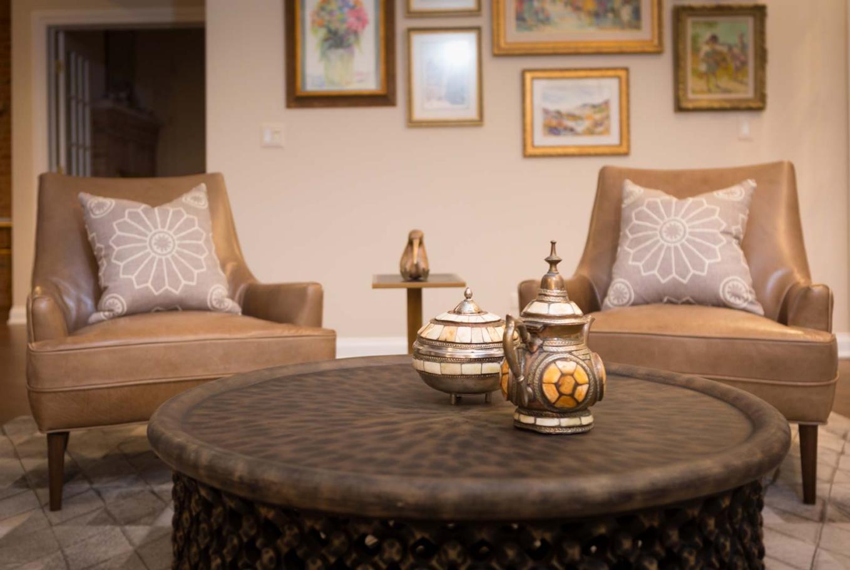Living Room Detail - Talie Jane Interiors - South Lake Tahoe