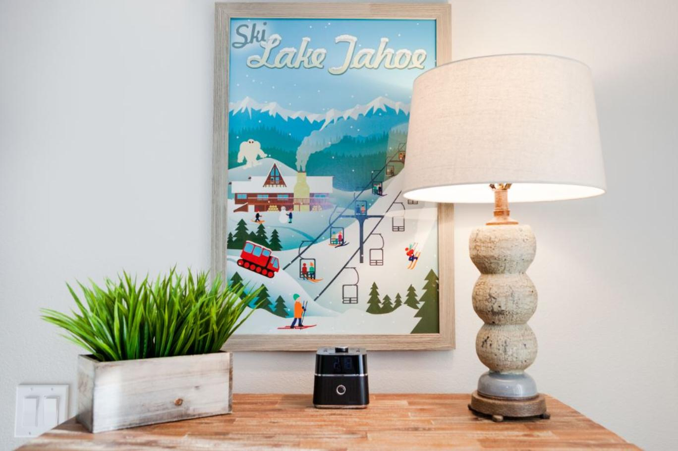 South Lake Tahoe Vacation Rental - Talie Jane Interiors