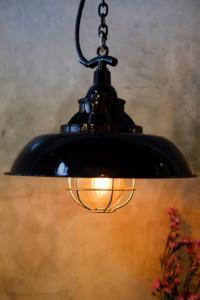 Vintage Light Fixture - Talie Jane Interiors