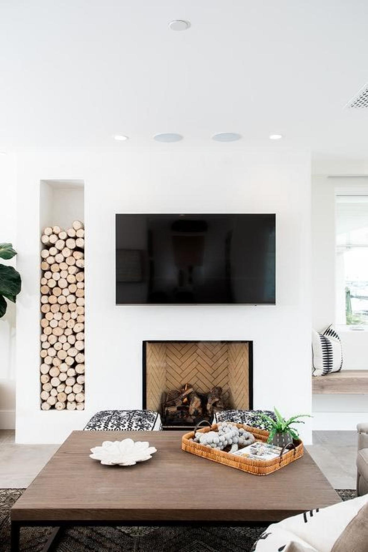 What do I do with my TV niche? - Talie Jane Interiors