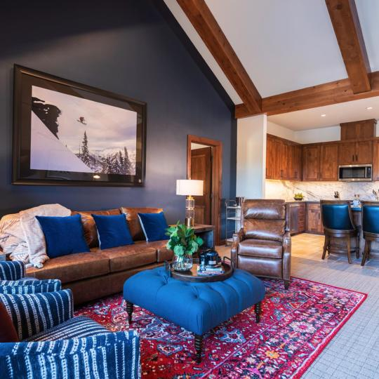 Zalanta Living Room and Kitchen - Talie Jane Interiors