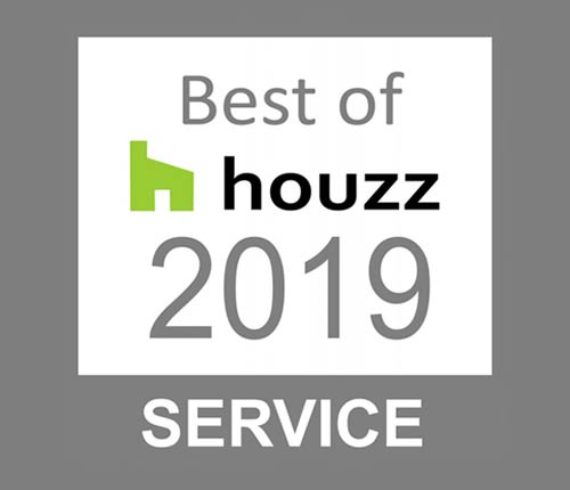 Talie Jane wins Best of Service Award from Houzz - 2019