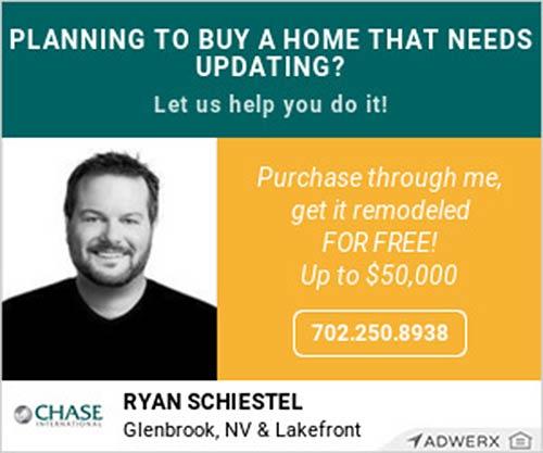 Buy Your Lake Tahoe Home through Ryan Schiestel