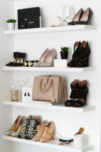 Floating Shelves in the bathroom - Talie Jane Interiors