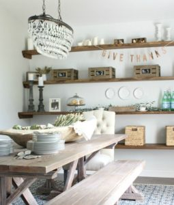 Floating Shelves placement - Talie Jane Interiors