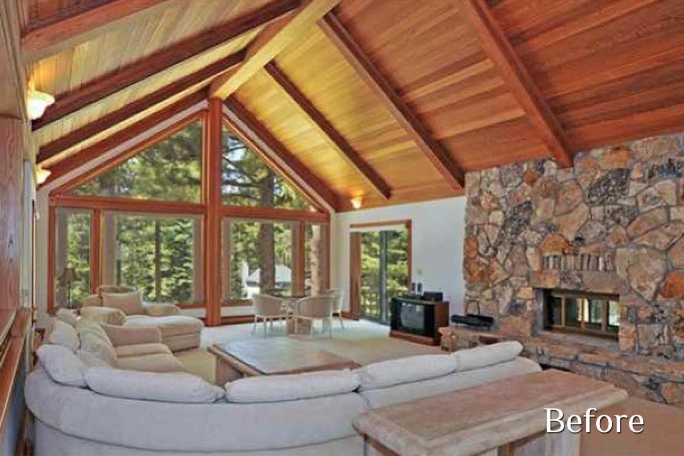 Living Room Before - Talie Jane Interiors