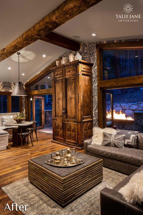 Family Room interior design - Talie Jane Interiors