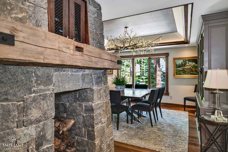 Dining Room interior design - Talie Jane Interiors