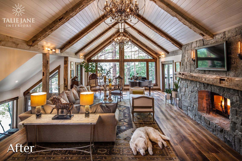 Living Room interior design - Talie Jane Interiors