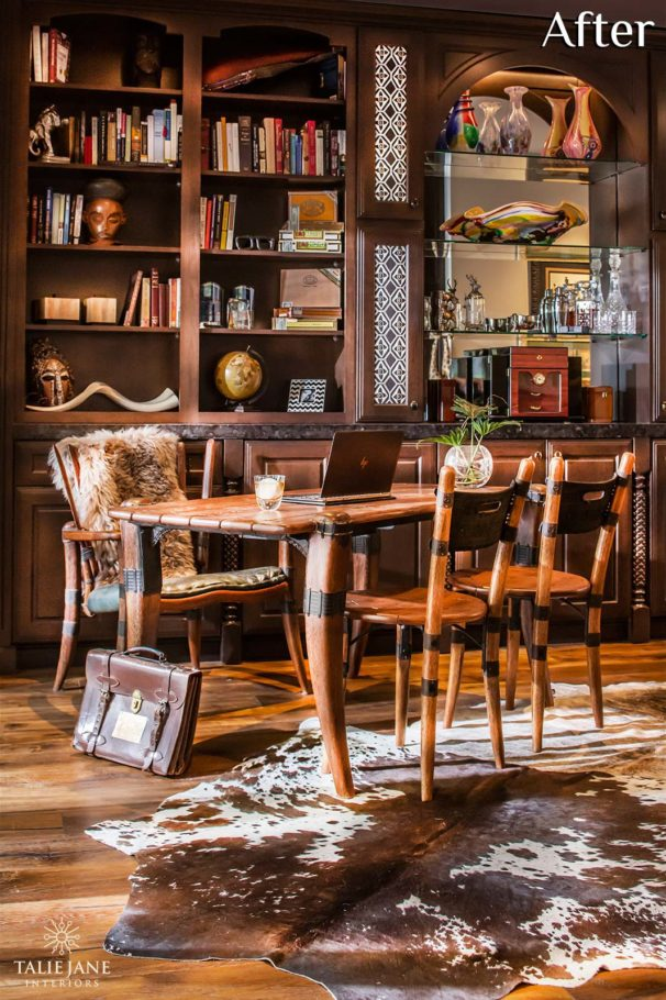 Home Office interior design - Talie Jane Interiors