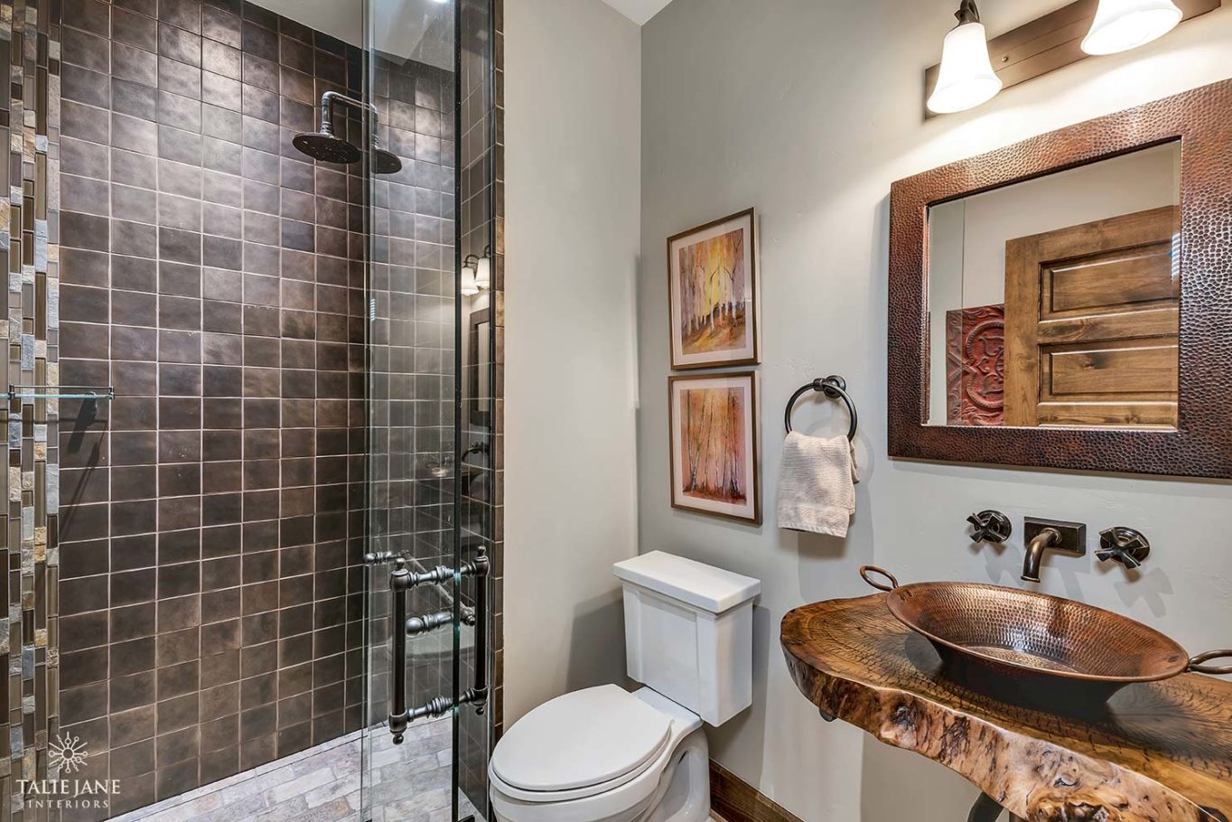 Bathroom interior design - Talie Jane Interiors