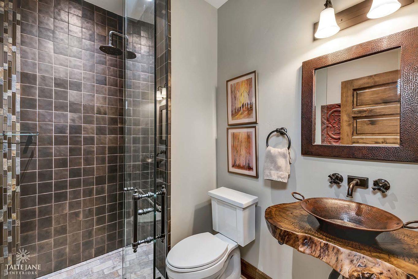 Bathroom interior design - Talie Jane Interiors