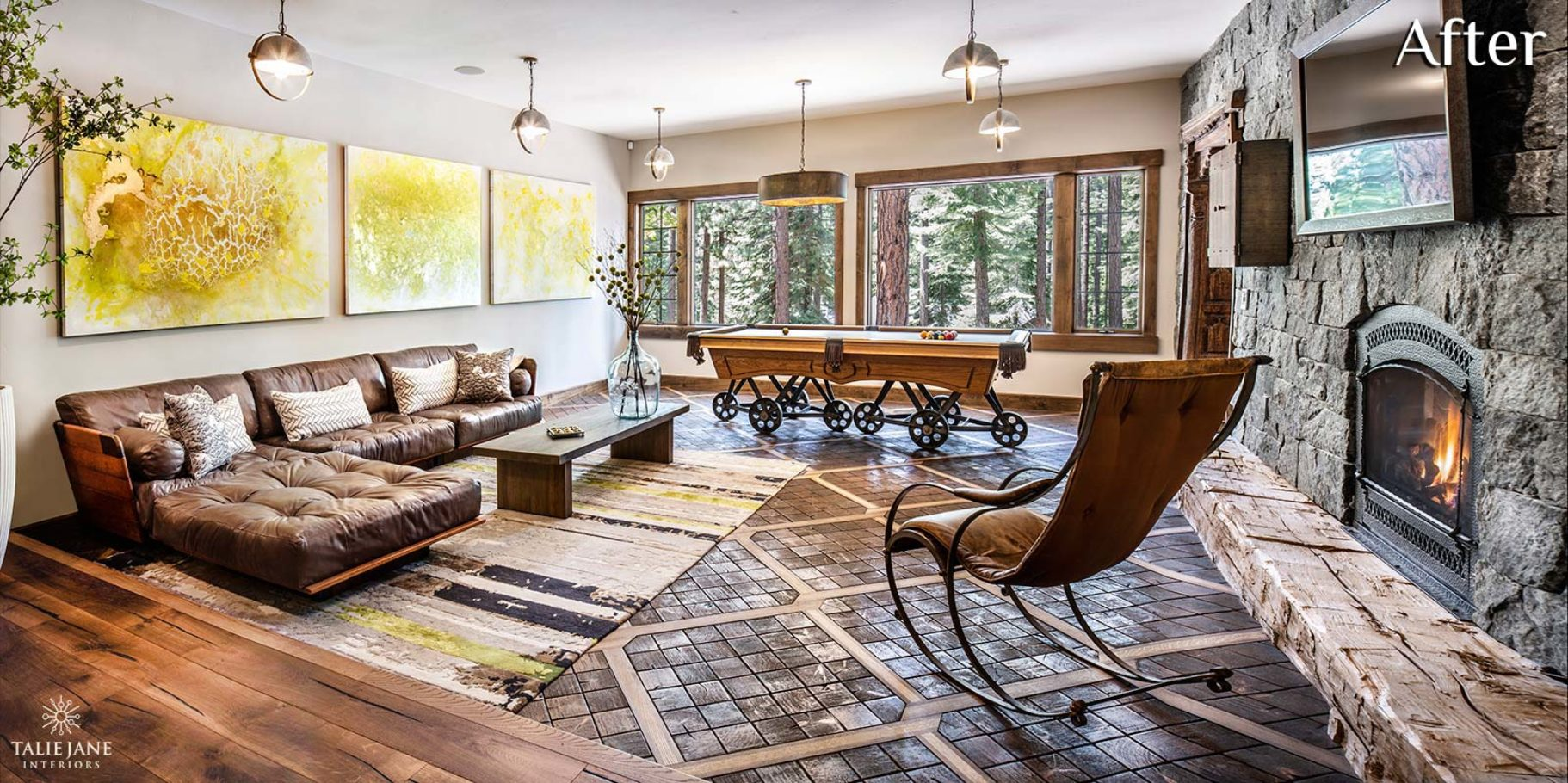 Game Room interior design - Talie Jane Interiors