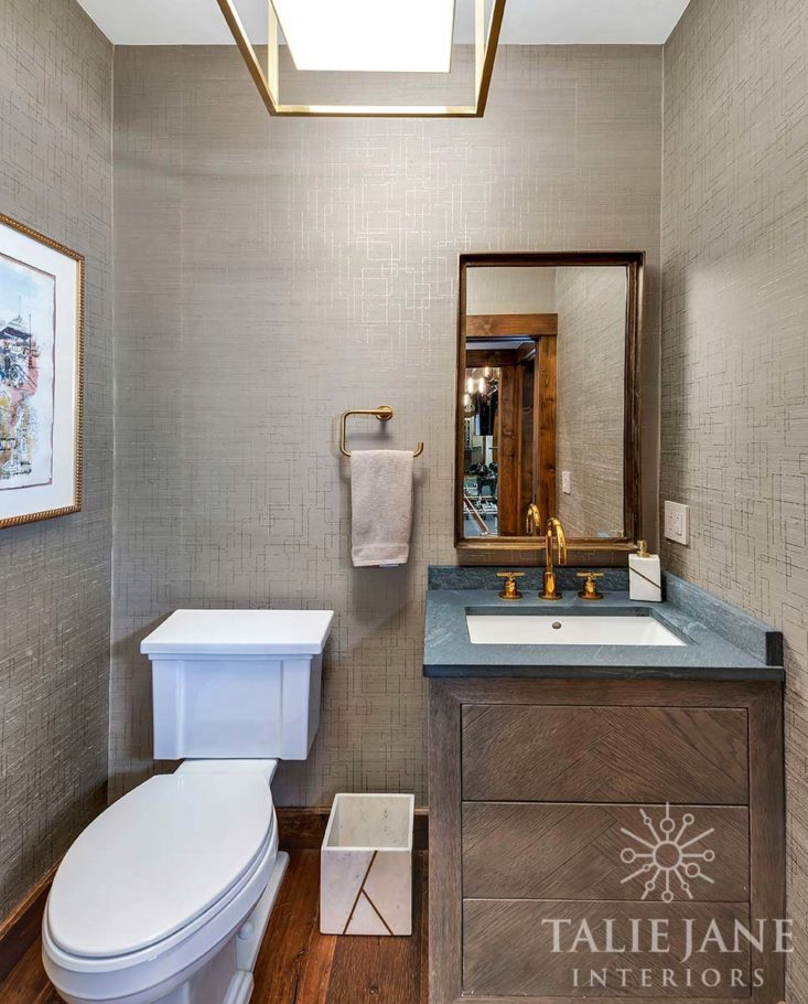 Powder Room after remodel - Talie Jane Interiors