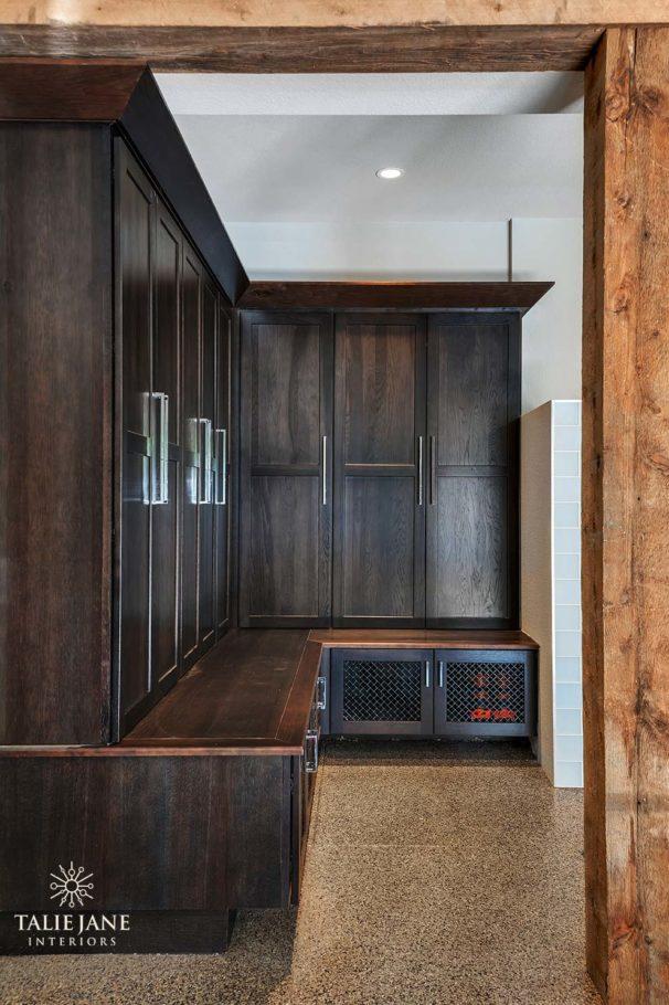 Mud Room interior design - Talie Jane Interiors