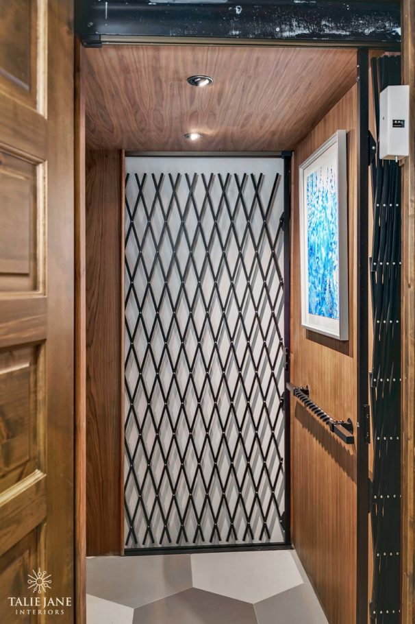 Home Elevator interior design - Talie Jane Interiors