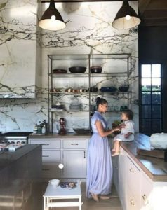 Marble Backsplash - Kitchen Trends - Talie Jane Interiors