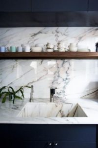 Marble Sinks and Countertops - Kitchen Trends - Talie Jane Interiors