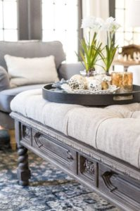 How to use an Ottoman Table - Talie Jane Interiors