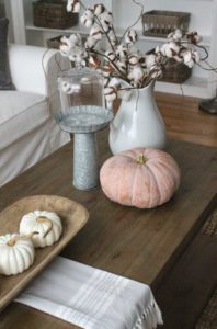 How To Design a Coffee Table - Decorating Seasonally - Talie Jane Interiors