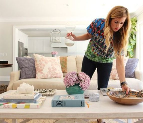 How To Style a Coffee Table - Talie Jane Interiors