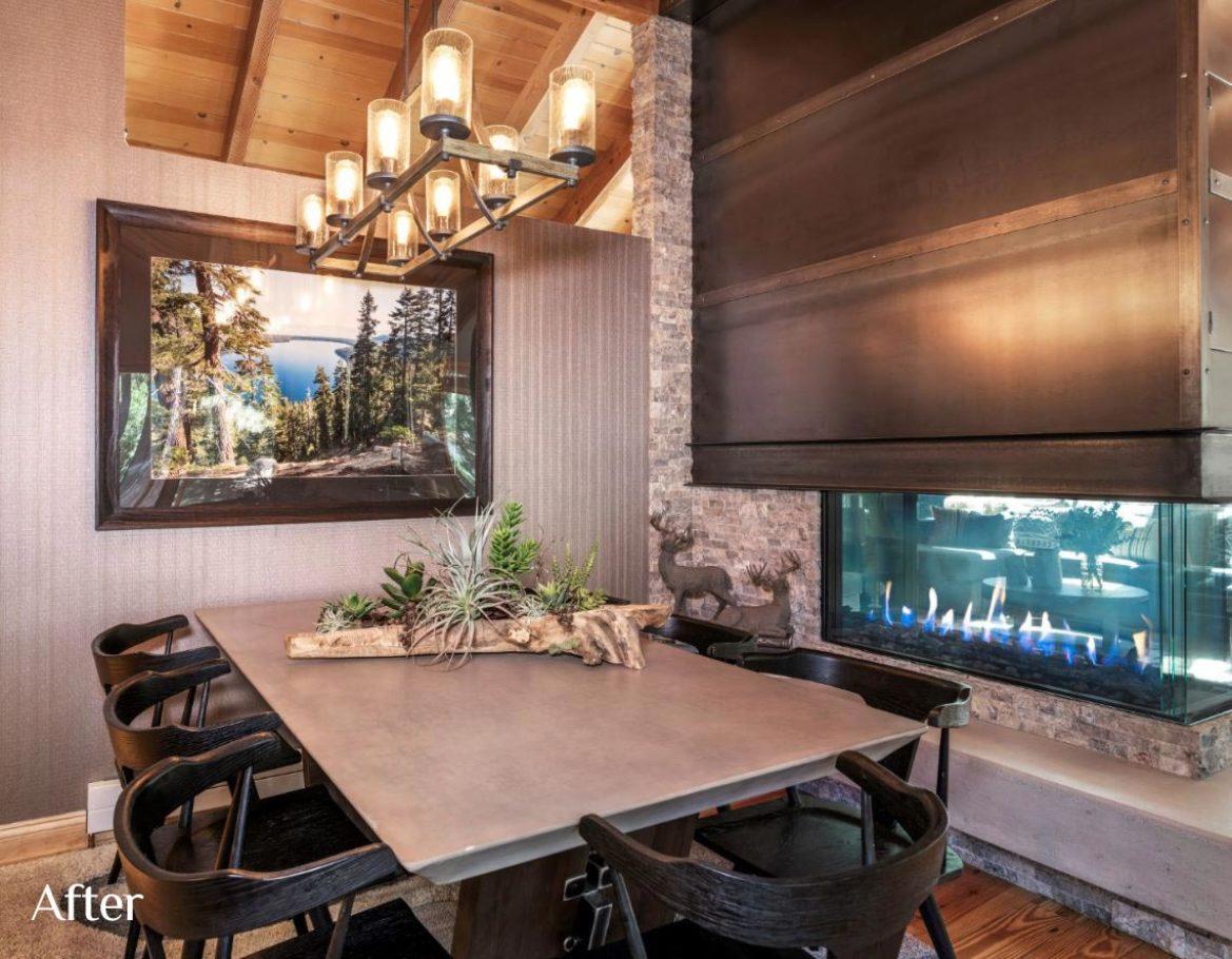 Dining Room Design after Talie Jane Interiors
