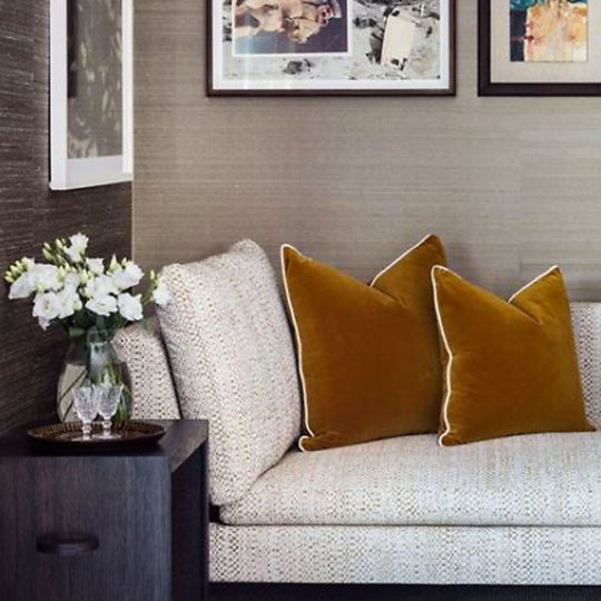 Grasscloth Wallpaper is hot! - Talie Jane Interiors - South Lake Tahoe