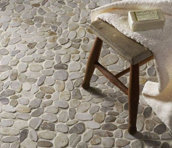Designing With Pebble Tiles - Talie Jane Interiors