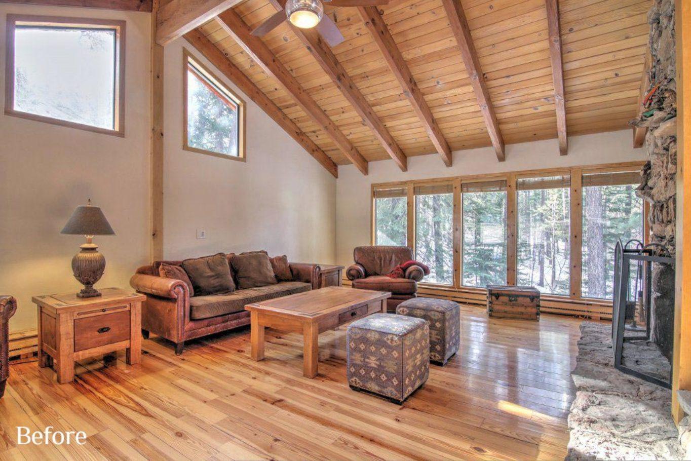 Living Room before Talie Jane Interiors